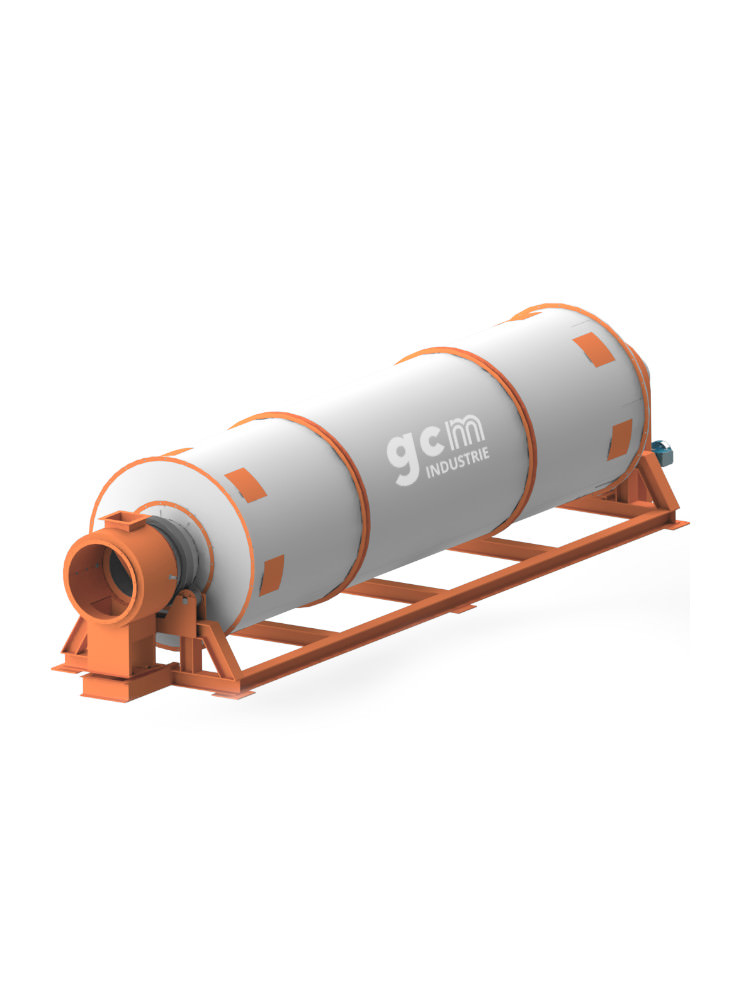 Rotary drum dryer – GCM-ET
